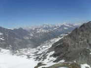 panorama sul Bianco e sulla Valgrisanche