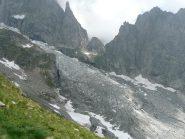 Col de chasseurs e ghiacciaio Freney