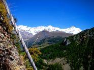 ... e del Monte Rosa.
