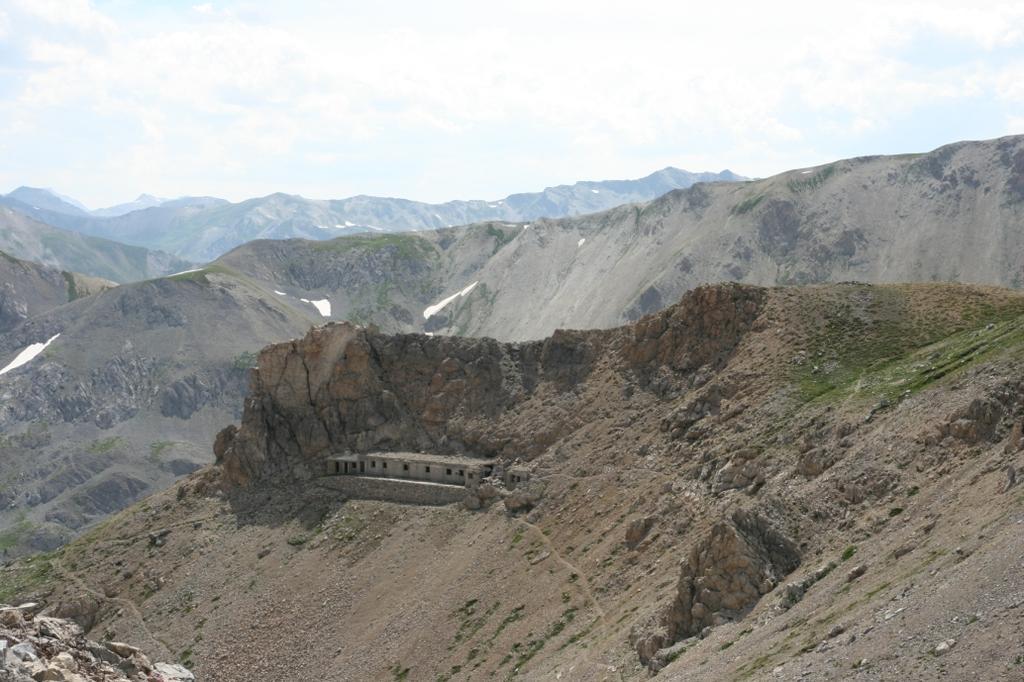 Forte militare visto dal colle della Scaletta