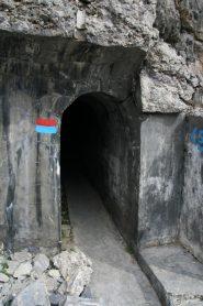 Imbocco del tunnel
