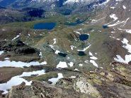 Panoramica sui laghi del Nivolet