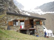 rifugio Aosta 2788 mt