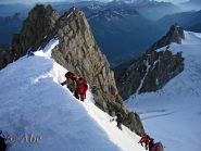 Uscita al Col du Mont Maudit