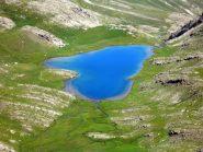 Il lago color turchese