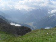 panorama sul vallone di Cogne