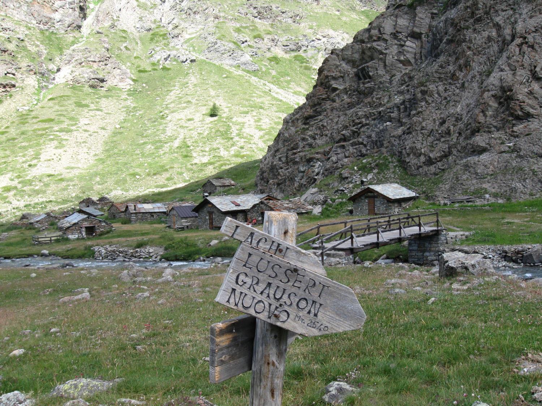 Alpi Grauson vecchie (2276 m)