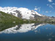 Il lago che invece c'è (col Monte Rosa dentro)