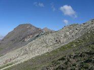 Punta Fauri Sud e sullo sfondo la Rognosa del Sestriere