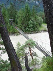 Ponte sospeso sul Lech