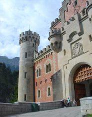 Ingresso castello di Ludwig II
