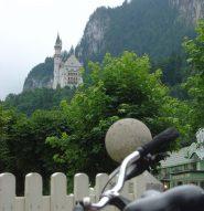 Appare il castello di Neuschwanstein