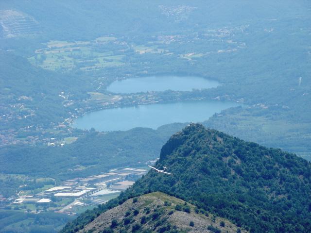 vista sui laghi di Avigliana