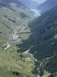 Veduta dalla punta sull'alta Val Varaita.