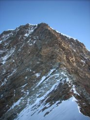 la cresta dal Colle della Fronte
