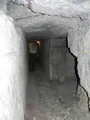 L'ingresso del bunker
