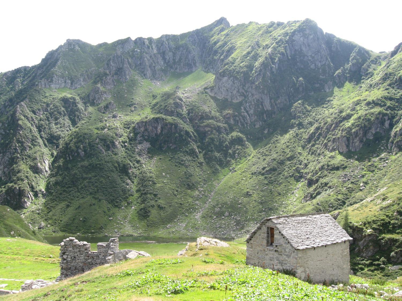Alpe Selle e Lago di Baranca
