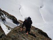 Sui salti del Breithorn
