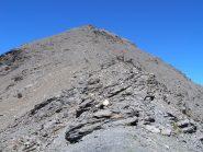 Crestone per la cima del Pelvo