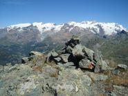 Panorama sul Monte Rosa