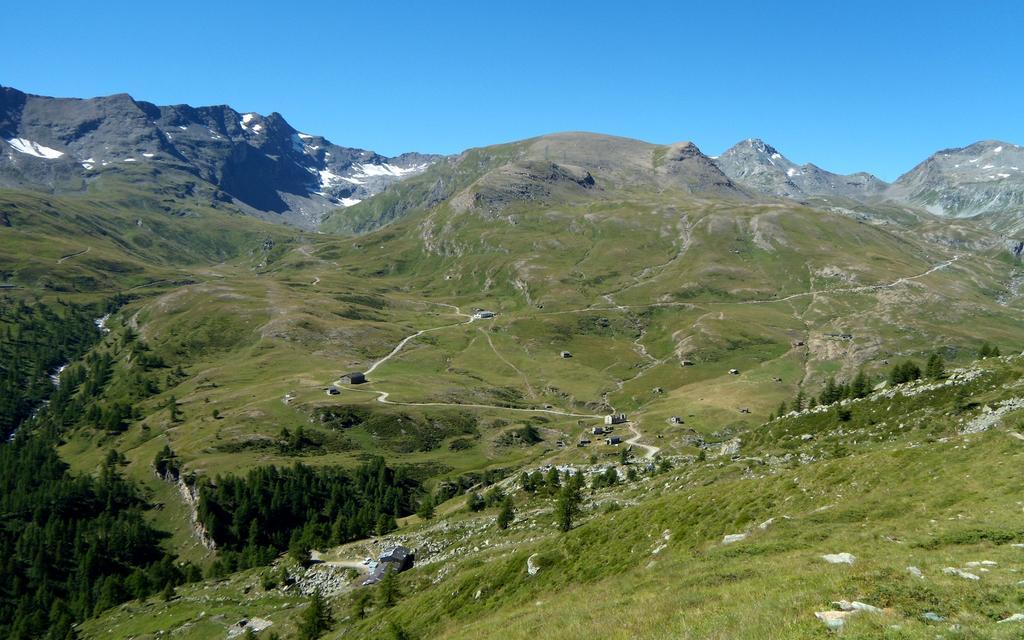 Ros (Mont) da Mont Blanc per il Lago Vernouille 2010-08-07