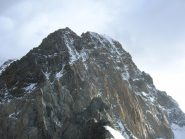 Dai pressi del Monte Brouillard uno sguardo verso il seguito della salita