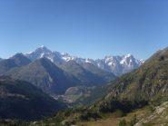 08 - panorama su M.Bianco e Grandes Jorasses