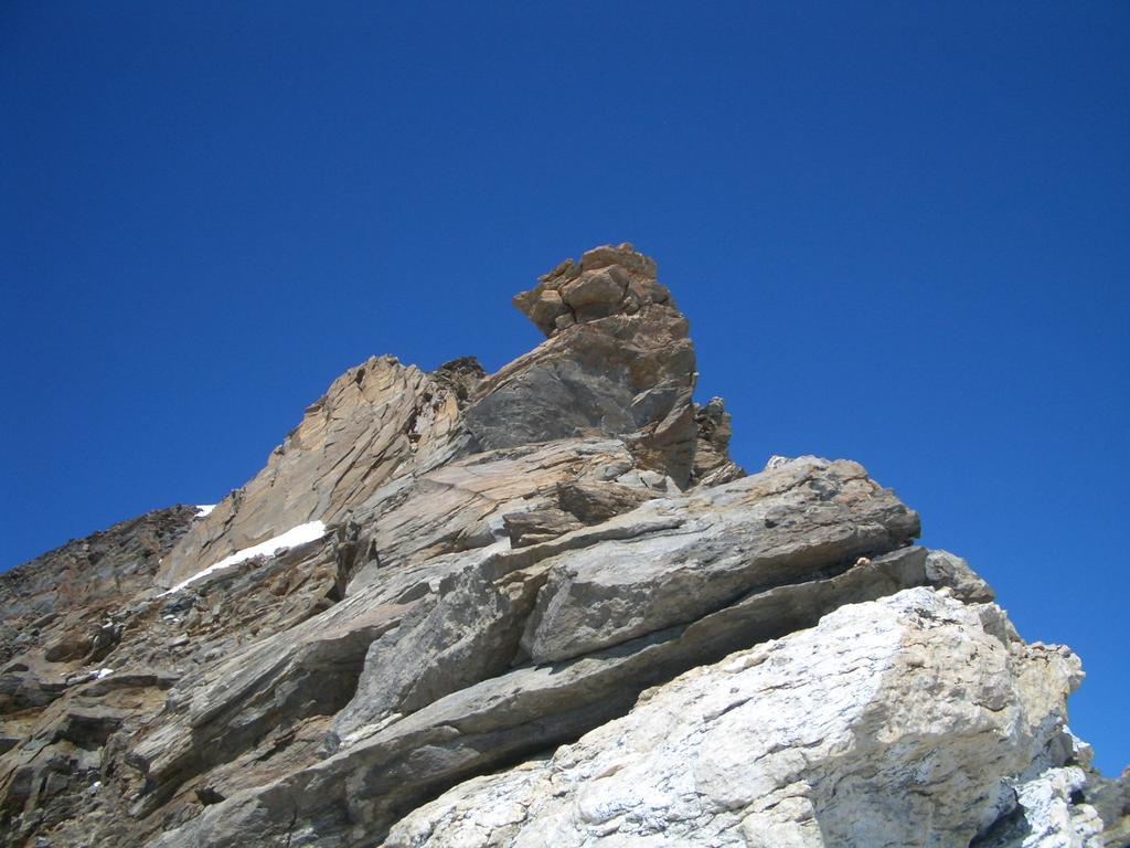 Vincent (Piramide) dalla Punta Giordani per la Cresta ESE 2010-08-09