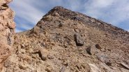 salendo verso la spalla della cima NE del Thunupa (12-8-2010)