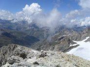 finalmente in punta,con vista sulla Val d'Isere come richiesto da chi ci ha preceduto...
