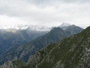Panorama sull'alta valle di Forzo