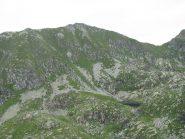 Secondo lago di Canaussa e Monte Canaussa