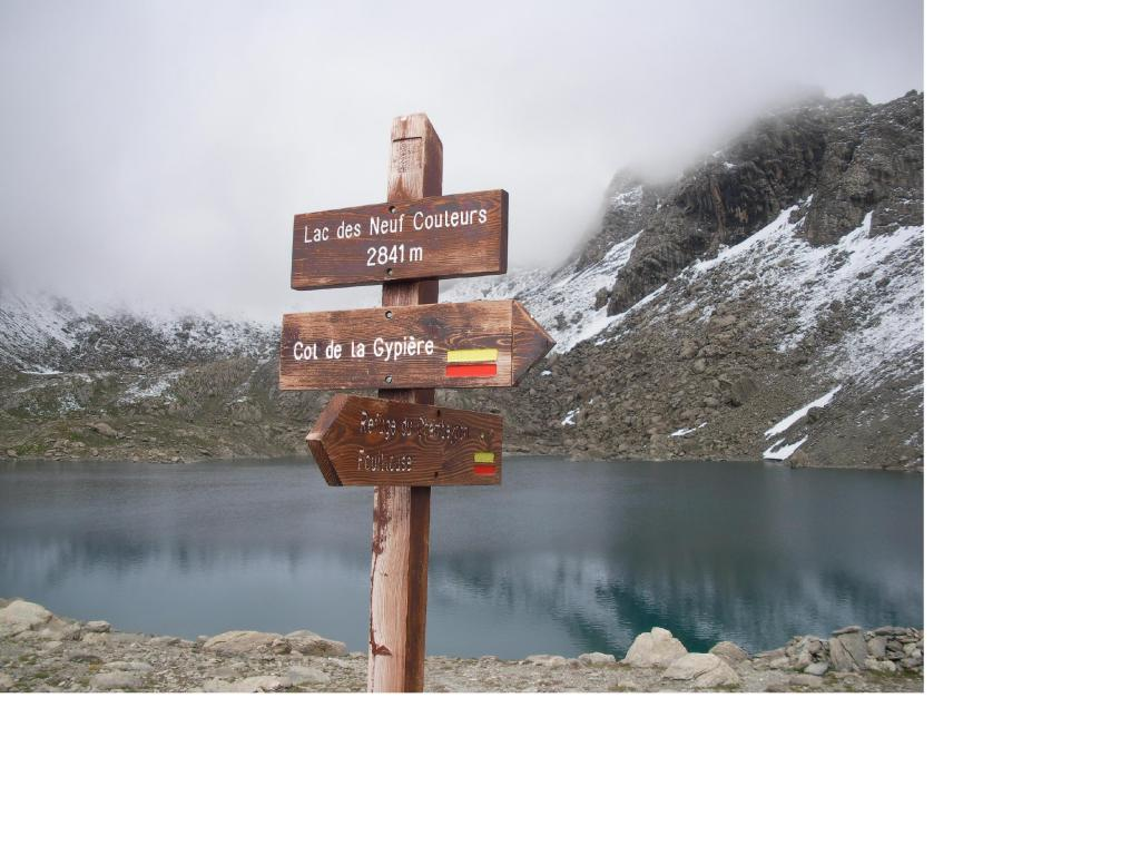 In trasferimento verso il Barenghi dalla Francia tramite il Col de la Gipyer...