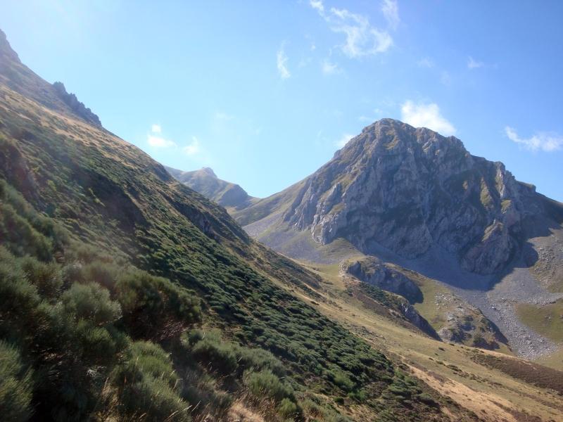 entrando nella valle Valverde (con Polinosa)
