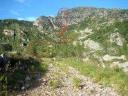 avvicinamento e area ferrata