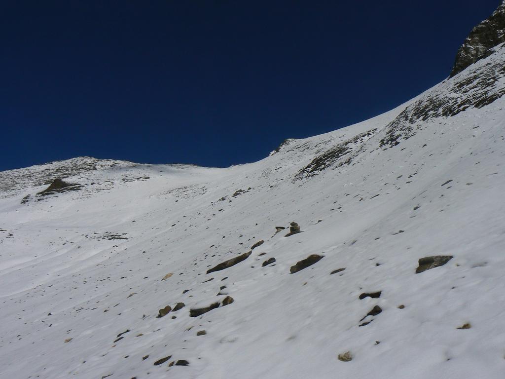 neve a 2700 metri