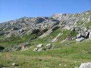 Punta d'Arlens dal versante nord-est