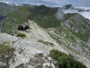 Panorama verso il Colle della Buffa