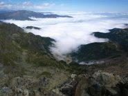 Nubi sulla comba dei Carboneri