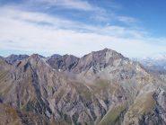 Dalla vetta: Rognosa del sestriere 3280m