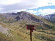 Dal bivio per il colle il Monte Pelato e a destra il M. Appenna