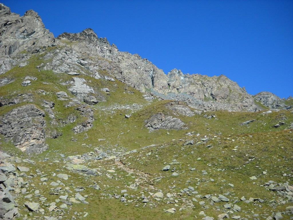 La cresta vista dalla bergeria