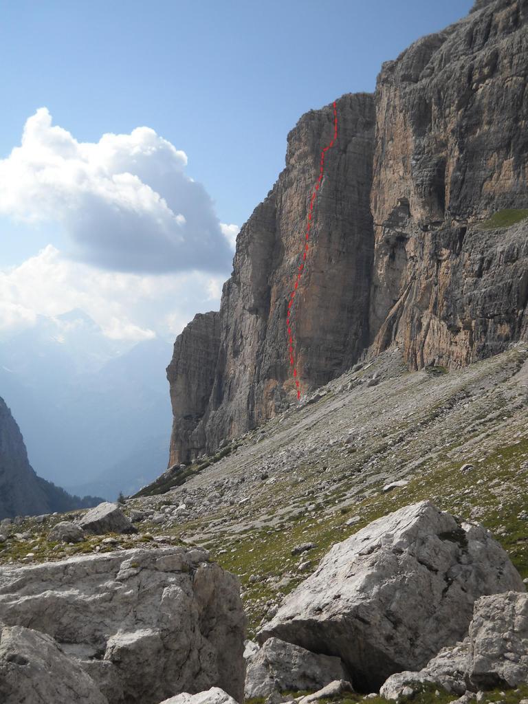 Pilastro Bruno - Cime di Campiglio Via delle Aspiranti Guide 2010-08-21