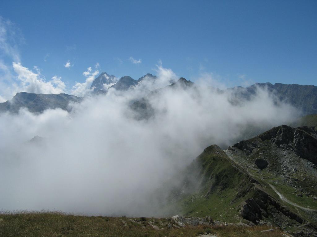 Monviso e Granero prima delle nebbie