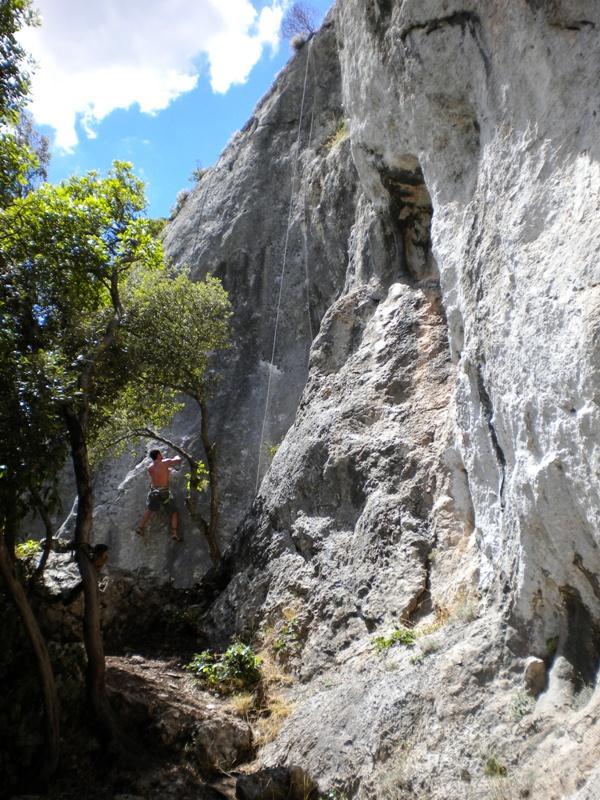 Calvo (Falesia di Monte) 2010-08-19