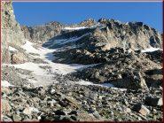 ...ghiacciaio e cresta Levanna Orientale...