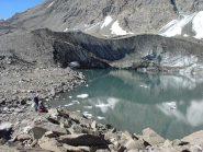 Laghetto glaciale dello Charbonnel