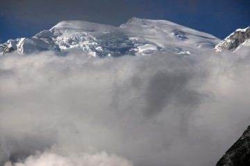 panorami dalla cima : Huascaran Sur m. 6768 (17-8-2007)