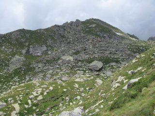 Il versante sud-est della Cialma Linsor