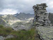Vetta con panorame verso l'alta Valsoera